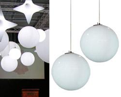 Le lampade Hanging Globo di Slide sono semplicemente i lampadari ...